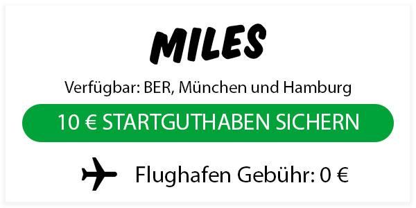 miles flughafen